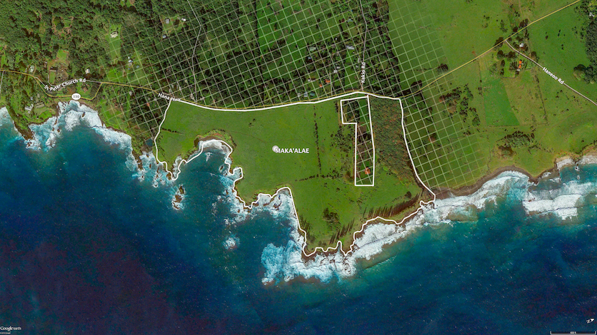 makaalae map hana ranch for sale